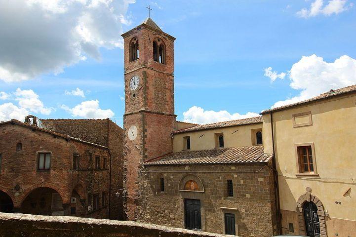 Il centro storico di Montecatini Val di Cecina