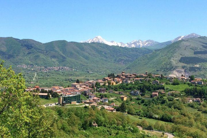 Il bellissimo panorama di Montereale