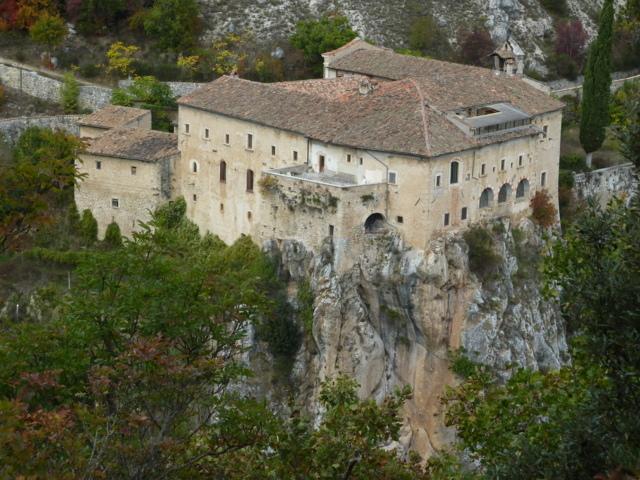 Il convento Sant'Angelo di Ocre