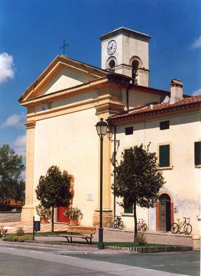 La chiesa di San Michele di Orciano Pisano