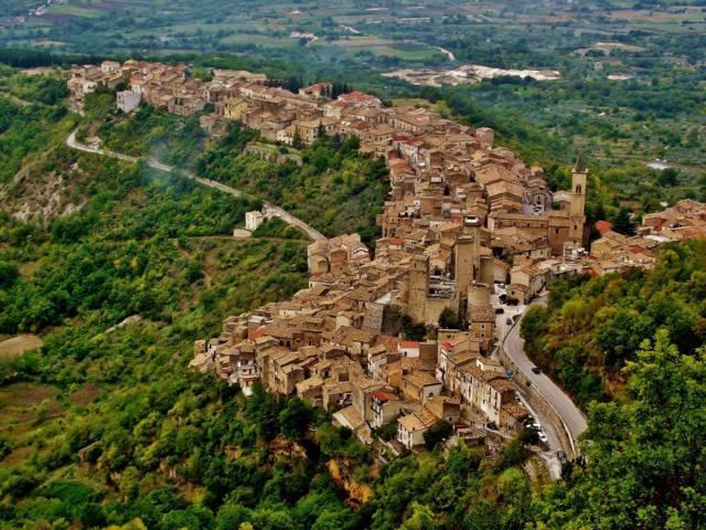 Il panorama del borgo di Pacentro