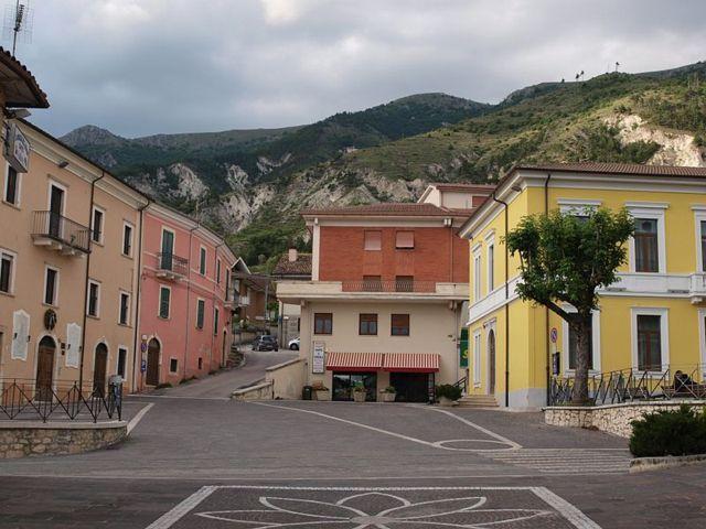 La Piazza del Municipio di Pizzoli
