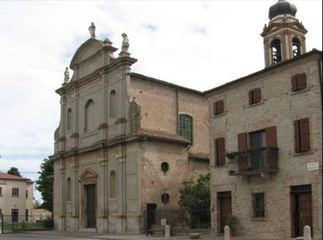 La parrocchia di San Giacomo di Ro