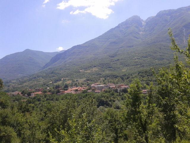 Il panorama di San Vincenzo Valle Roveto