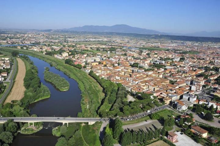 Il panorama di Santa Croce sull'Arno