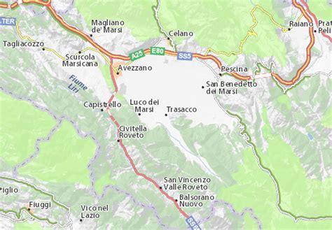 La cartina di Trasacco