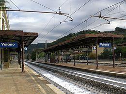 La stazione ferroviaria di Vaiano