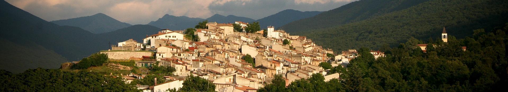 Il panorama del borgo di Villavallelonga