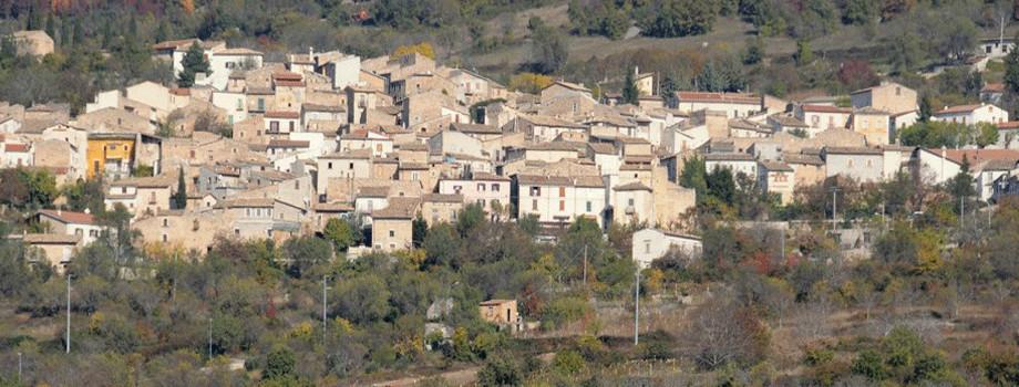 Il panorama di Villa Santa Lucia degli Abruzzi