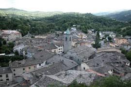 Il panorama dei tetti di Abetone
