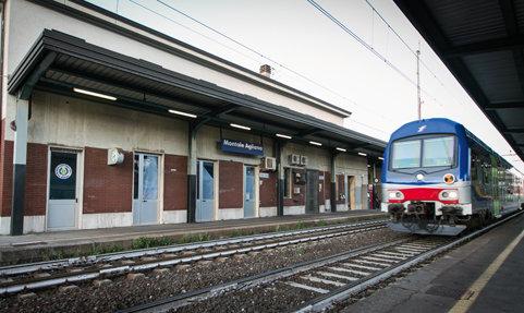 La stazione ferroviaria di Agliana