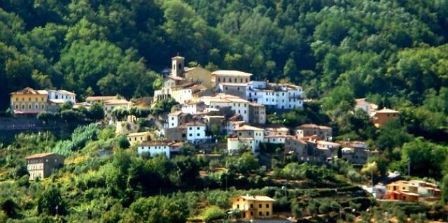 Il panorama del borgo di Marliana