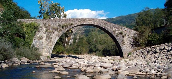 Il ponte di Castruccio Popiglio di Piteglio