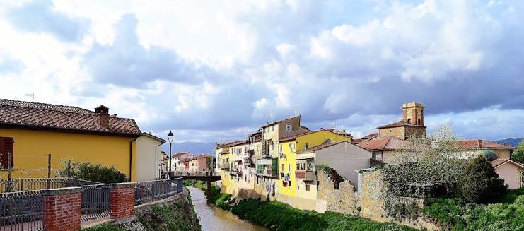 Il panorama del borgo di Ponte Buggianese