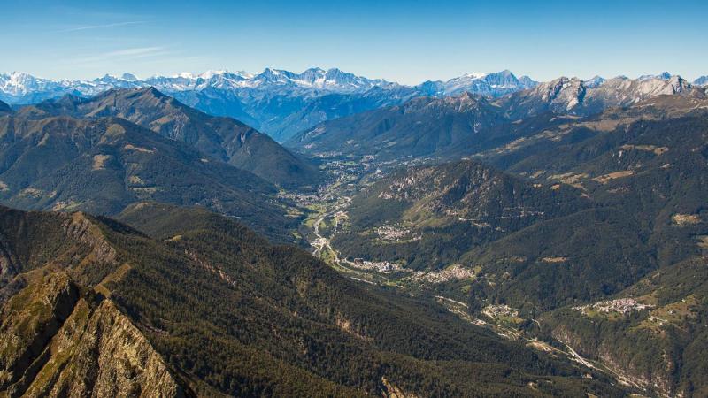 Il panorama della Val Vigezzo