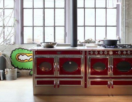 Cucina economica a legna e pellet