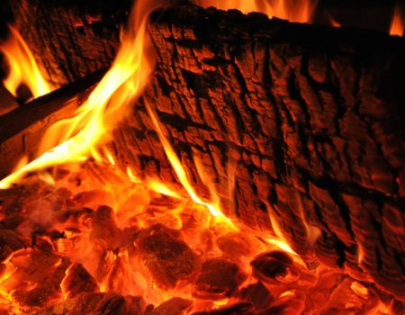Un'immagine del fuoco