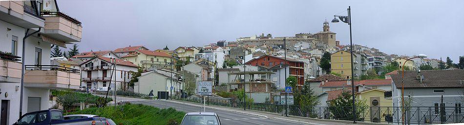 Il panorama del borgo di Castel Frentano
