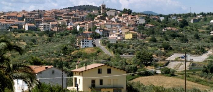 Il panorama del borgo di Cupello