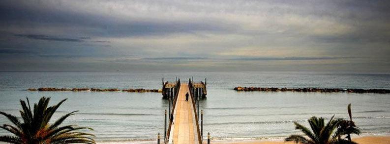 Il panorama del pontile di Francavilla al Mare