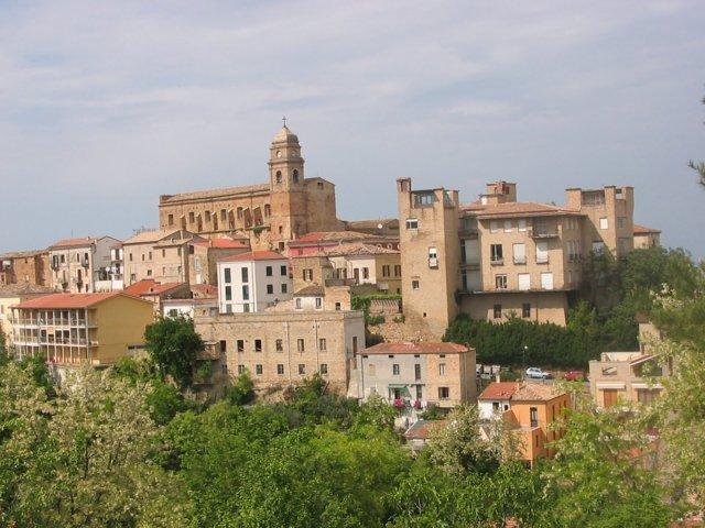 Il panorama del borgo di Miglianico