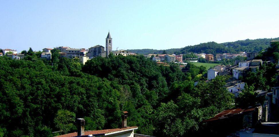 Il panorama del borgo di Tornareccio