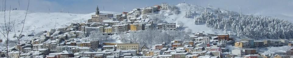 Il panaroma del borgo di Castiglion Messer Marino