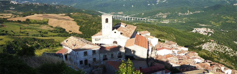 Il panorama di Civitaluparella