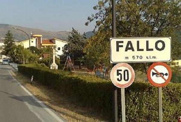 Il cartello stradale di Fallo