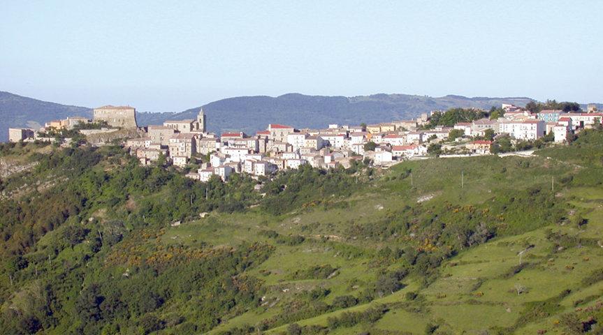 Il panorama di Montazzoli