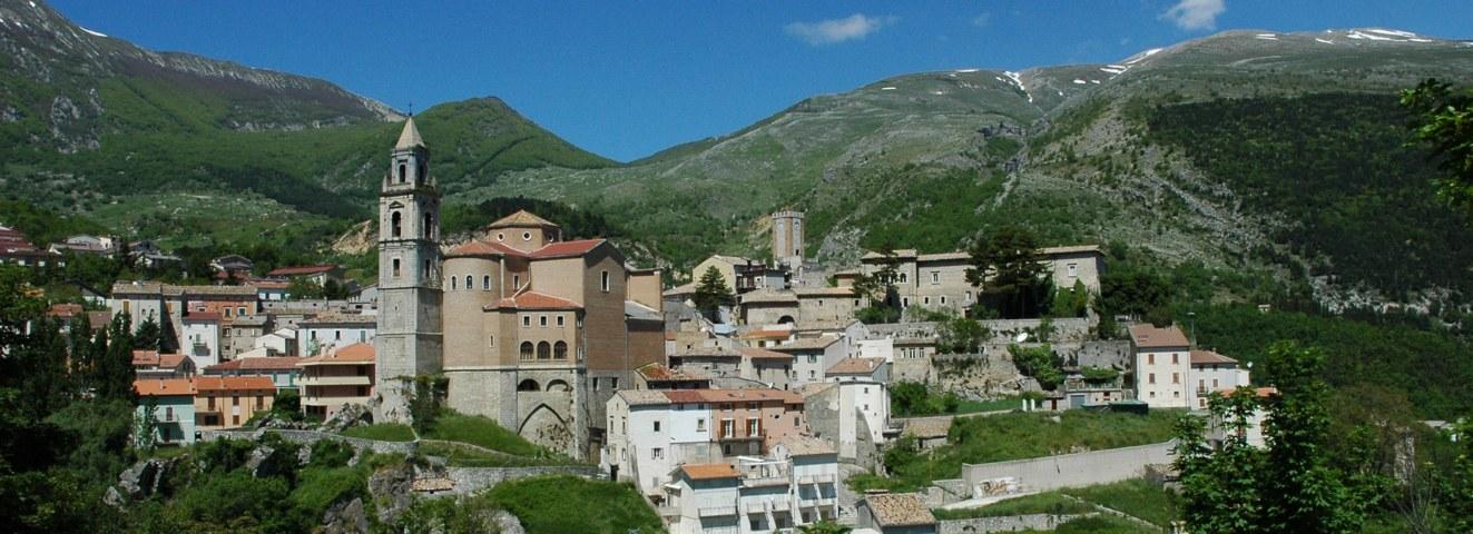 Il panorama del borgo di Palena