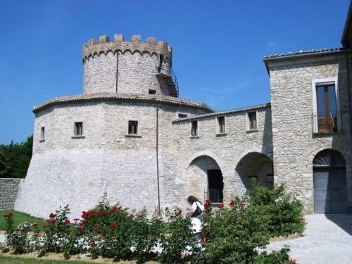 Uno scorcio del castello di Palmoli