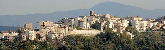 Il panorama di Palombaro