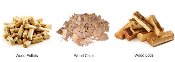 Immagine di pellet, cippato e legno