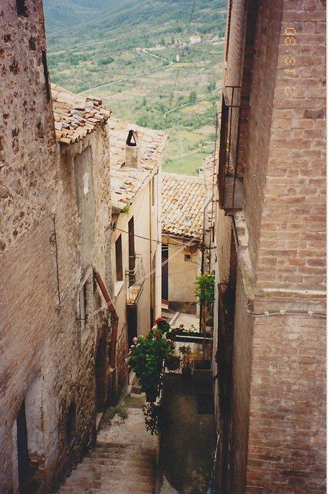 Uno scorcio del borgo di San Buono