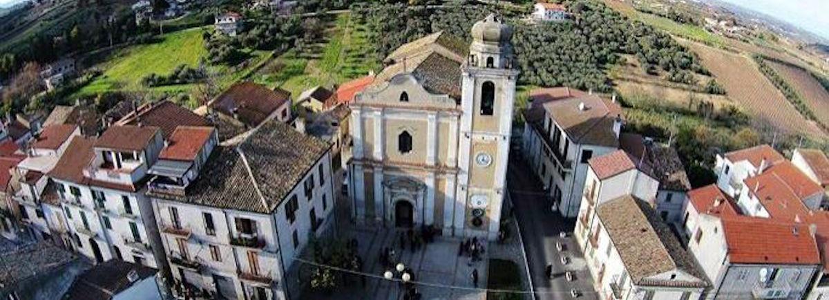 Un'immagine aerea di Villalfonsina