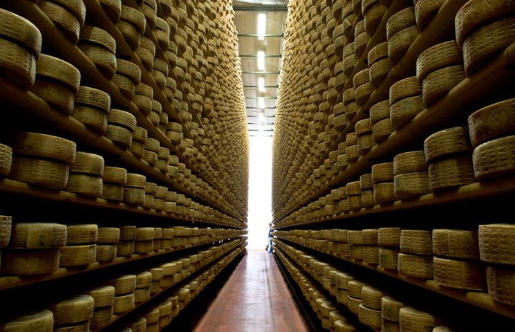 La stagionatura del formaggio