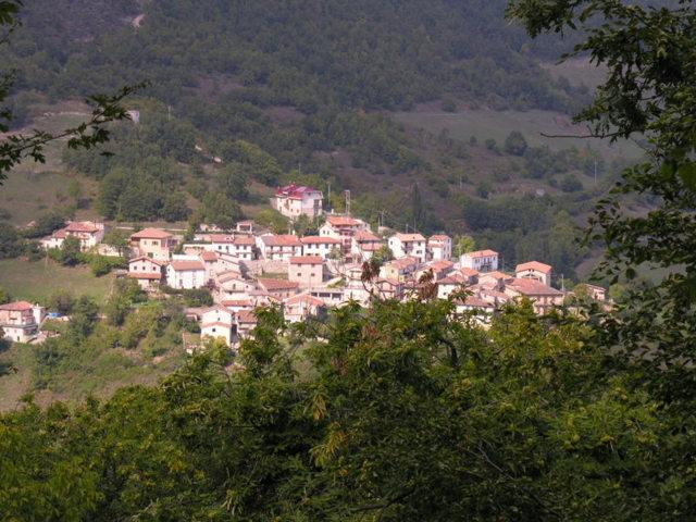 La frazione Villanova di Accumoli