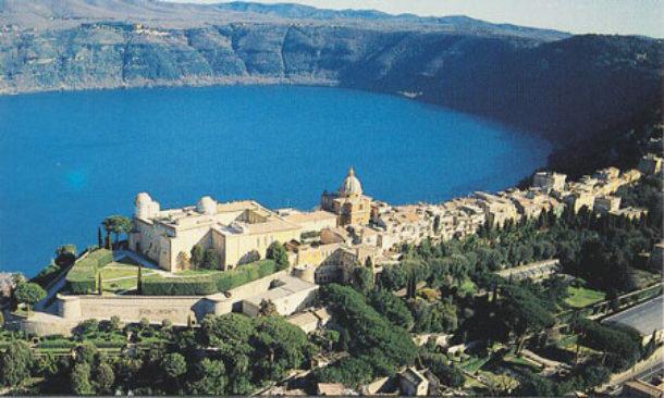 Il panorama di Castel Gandolfo