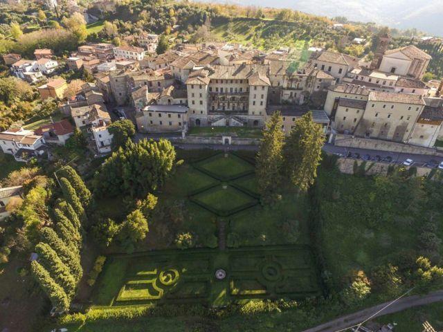 Palazzo Salustri Galli di Castelnuovo di Farfa