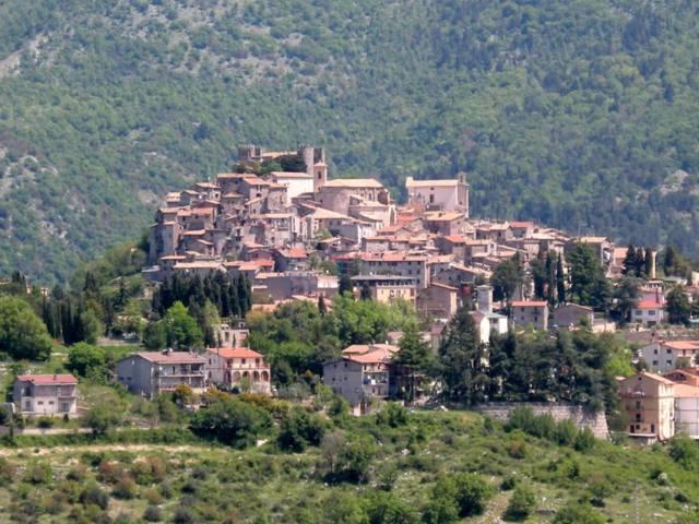 Il panorama del borgo di Ciciliano