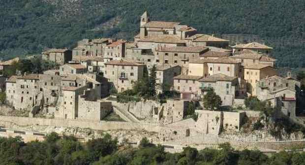 Un'immagine panoramica di Cottanello