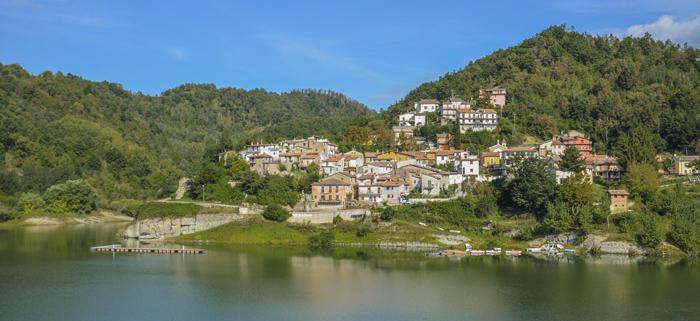 Il panorama del borgo di Fiamignano
