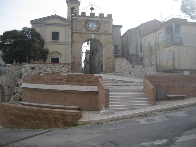 Lo scorcio del borgo di Forano
