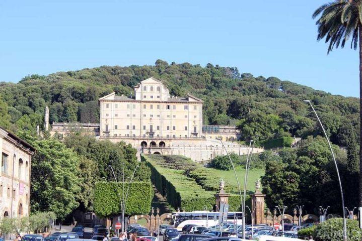 La villa Aldobrandini di Frascati