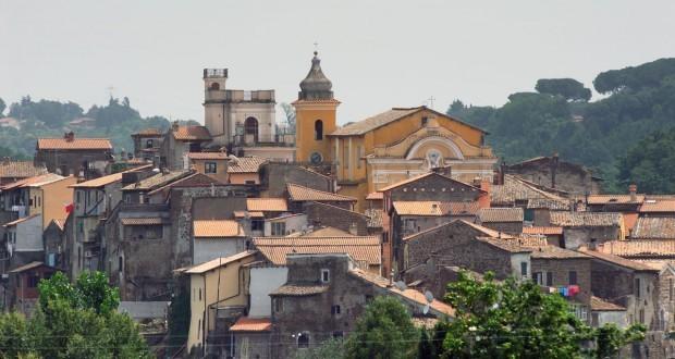 Il panorama di Gallicano nel Lazio
