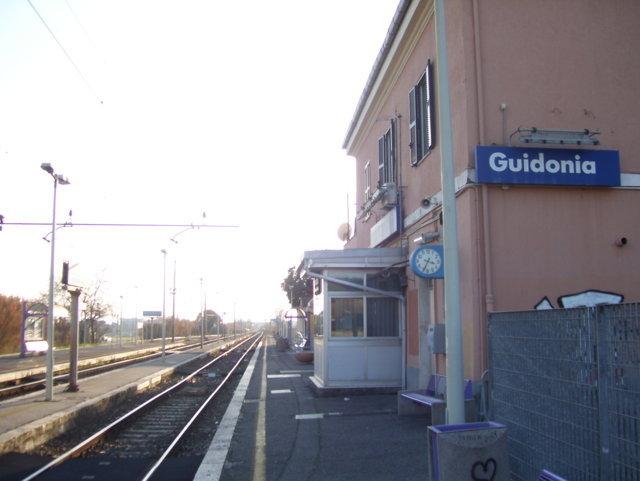 La stazione di Guidonia Montecelio