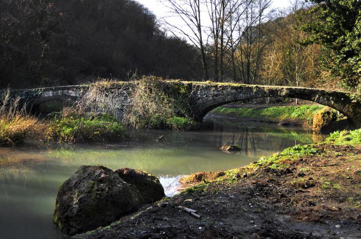 Il ponte antico di Mazzano Romano