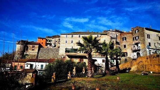 Il panorama del borgo di Mentana