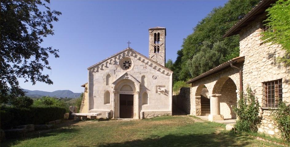 Il santuario di Santa Vittoria di Monteleone Sabino